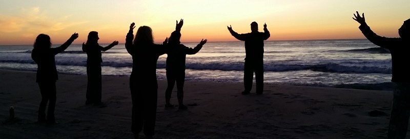Qigong at Sunrise